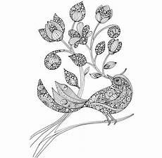 Ausmalbilder Erwachsene Vogel Blumenmuster Ausdrucken Evhall News Blogs And Magazines