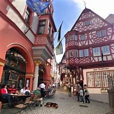 Colorful Town Bernkastel Kues In The Middle Mosel