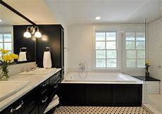 Master Bathroom Ideas Black And White by 20 Black And White Bathroom Designs Decorating Ideas