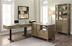 modular home office furniture midtown modular home office set w power lift desk parker