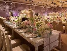wedding reception decoration tables the