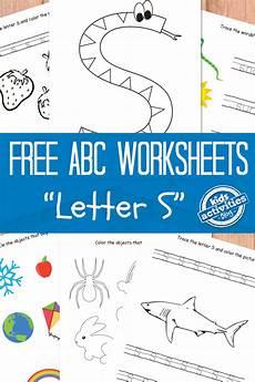 letter s worksheets free kids printable