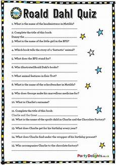 s day printable quiz 20588 free printable roald dahl quiz roald dahl roald dahl activities roald dahl day