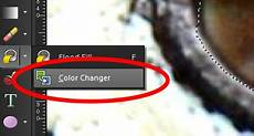 using the color changer tool in corel paintshop pro