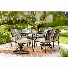 belcourt 7 piece metal outdoor dining new outdoor furniture from home depot popsugar