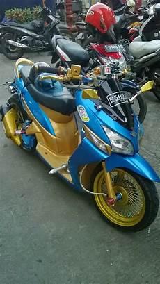 Modifikasi Motor Vario by Modifikasi Motor Honda Vario Terbaru Keren