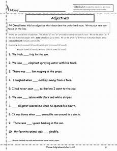 punctuation worksheets for grade 2 20692 a or an worksheet for grade 2 search dengan gambar