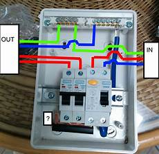 how to wire rcbo in consumer unit uk wiring youtube throughout shed diagram volovets info