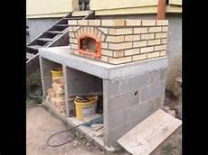 comment construire un four 224 tarte flamb 233 e pizza en 10
