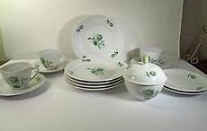 15 pieces porcelain china winterling bavaria germany ca