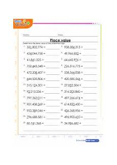 place value and value worksheets for grade 6 5317 6th grade math worksheets pdf 6th grade math test