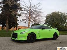 Matte Lime Green Nissan Gtr Vehicle Customization Shop