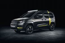 2018 Peugeot Rifter 4x4 Is A Turbo Diesel Powered Concept