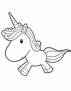 Malvorlagen Unicorn Yellow Printable Unicorn Coloring Page Coloringpagebook