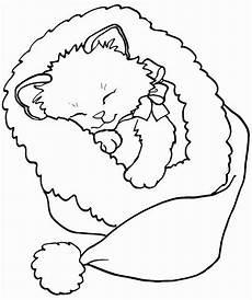 druckbare weihnachten katze malvorlagen best of gato natal