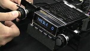 Bluetooth In Classic Cars  Vintage Car Radio