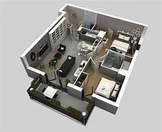 25 more 2 bedroom 3d floor 50 3d floor plans lay out designs for 2 bedroom house or