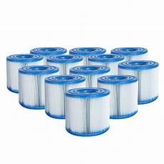 Lot De 12 Cartouches De Filtration Type H Intex