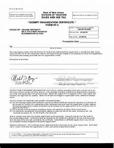 exempt organization certificate form st 5 edit online fill print download forms in