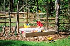 Kinderspielplatz Selber Bauen - diy backyard playground equipment home guides sf gate