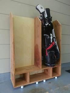 Garage Storage Ideas For Golf Clubs by Golf Club Storage Diy House Garage In 2019 Garage