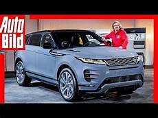 range rover evoque ll 2019 vorstellung sitzprobe