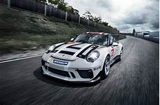 2017 porsche 911 gt3 cup racer launched in autocar
