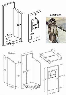 barred owl house plans bird houses nesting box barred owls bird houses owl