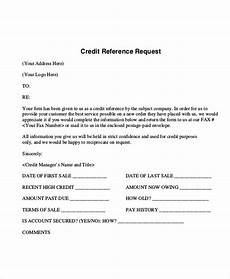 credit request form free 10 sle reference request forms in ms word pdf