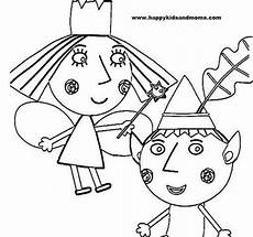 ben and kindom free colouring pages
