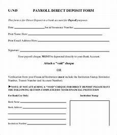 direct deposit form template 9 free pdf documents download free premium templates