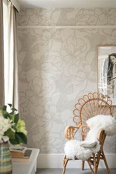 Farrow Helleborus Wallpaper Anthropologie