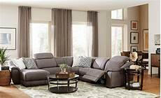 neutral great room with 6 pc vegara pewter sectional transitional living room houston