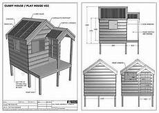 cubby house plans free cubby house play house build one with your children full