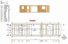 plan maison ossature bois plan de construction maison ossature bois