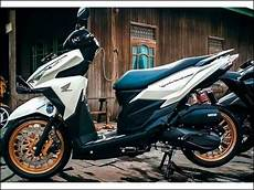 Modifikasi Vario 150 Silver 2018 by 20 Modifikasi Vario 150 Warna Putih Terbaru 2019