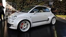 fiat 500 giannini is city car with 350 hp from alfa