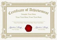 farewell card templates cdr vector templates of certificates design set 05 free