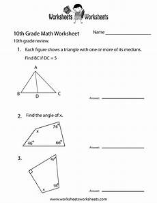 math geometry worksheets grade 10 808 free printable 10th grade math review worksheet