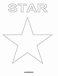 Sterne Malvorlagen Coloring Page Kinderart