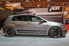 golf r goes mental with 400 hp tuning kit from abt in