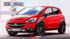 Opel Corsa Neu - 2015 opel corsa rocks rendering autoevolution