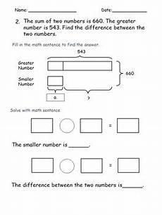 bar model word problems worksheets 4th grade 11460 addition subtraction worksheets 2 steps word problems 3rd 4th grade bar models