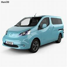 nissan e nv200 evalia 2014 3d model vehicles on hum3d