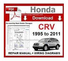 chilton car manuals free download 2011 honda cr v parking system honda cr v workshop manual