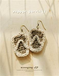 Slipper Earrings Pattern Symbol Diagram Pdf By Kittying