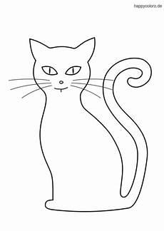 Malvorlage Sitzende Katze Katze Malvorlage Kostenlos 187 Katzen Ausmalbilder
