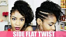 Twist To The Side Hairstyle