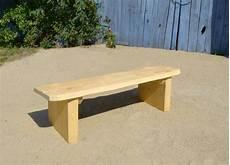 bank ohne lehne rustic bench without backrest ziegler spielpl 228 tze