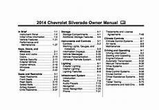 car repair manual download 2002 chevrolet silverado user handbook 2014 chevrolet silverado owners manual just give me the damn manual